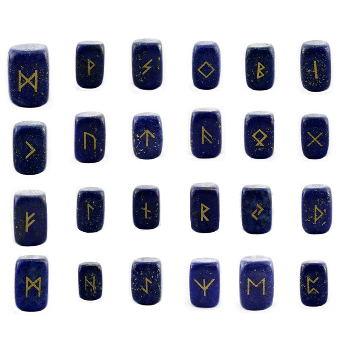 Engraved Rune Stone Set - Elder Futhark (Various sets)