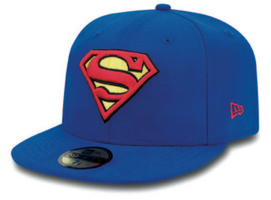 NEW ERA - SUPERMAN Hat. 59Fifty Fitted Cap. From PeakNation.co.uk