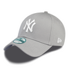 NEW ERA - 9Forty Adjustable Cap. NEW YORK YANKEES. Grey/White. OSFA.