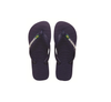 "HAVAIANAS ""BRASIL LOGO"" UNISEX FLIP FLOPS. ADULT AND YOUTH (9 colours) UK3-UK12"