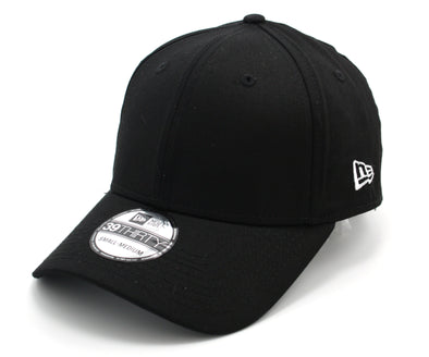 NEW ERA - FLAG 39THIRTY FITTED CAP. BASIC NEW ERA PLAIN BLACK CAP