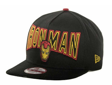NEW ERA - 9FIFTY A FRAME SNAP BACK CAP. IRON MAN 3. Black/Red. Official Cap. from peak nation