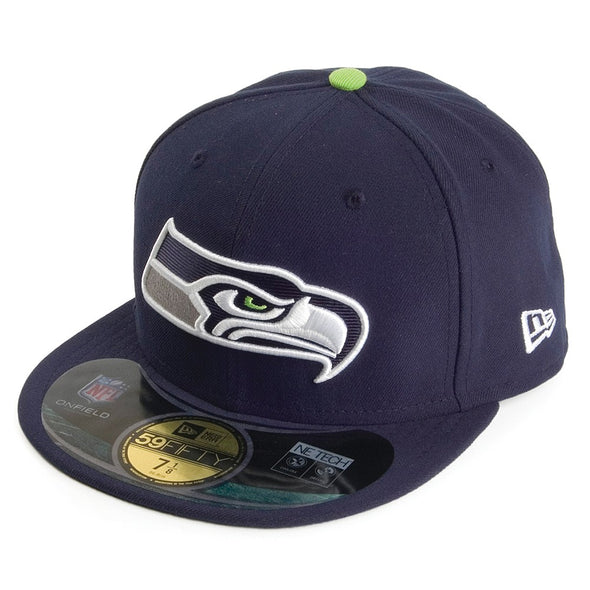 NEW ERA - 59FIFTY OFFICIAL ON FIELD CAP. NFL SEATTLE SEAHAWKS.