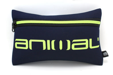"ANIMAL NEOPRENE BOYS PENCIL CASE ""KELS"" TOTAL ECLIPSE NAVY. (HE6WJ004) from peaknation.co.uk"