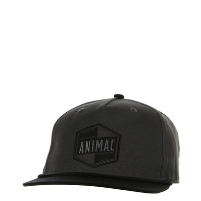 "ANIMAL ""KRULL"" MENS ADJUSTABLE SNAP BACK CAP. PEWTER GREY from peaknation.co.uk"