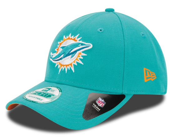 NEW ERA 9FORTY STRAPBACK CAP. THE LEAGUE 9FORTY. Miami Dolphins