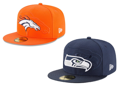 NEW ERA 59FIFTY FITTED CAP. NFL SIDELINE. 2 TEAMS from peaknation.co.uk