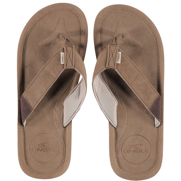 "O'NEILL ""CHAD"" MENS FLIP FLOPS. CORNSTALK  from peaknation.co.uk"