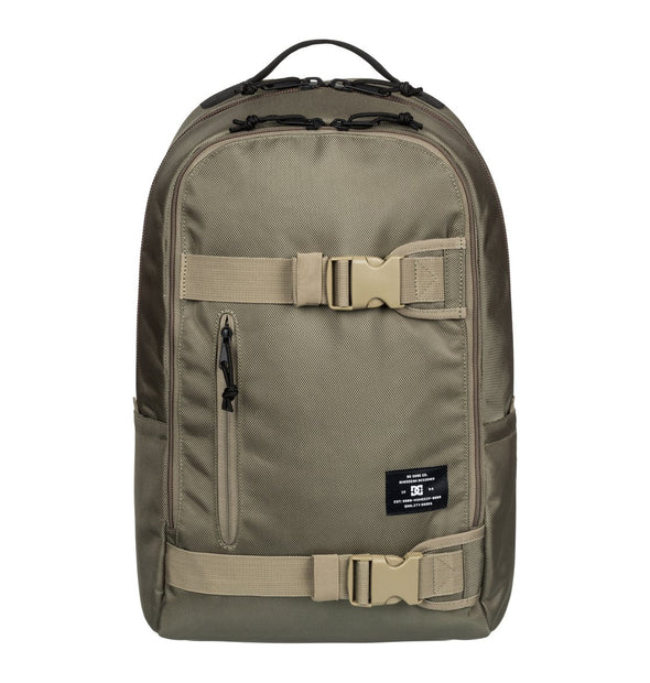 "DC ""CARRYALL"" MENS BACKPACK. Dusky Green (EDYBP03085) from peaknation.co.uk"