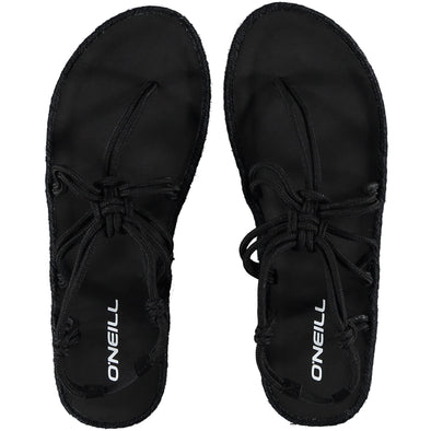 "O'NEILL ""STRETCH STRAP"" WOMENS SANDALS. BLACK (7A9512) from peaknation.co.uk"
