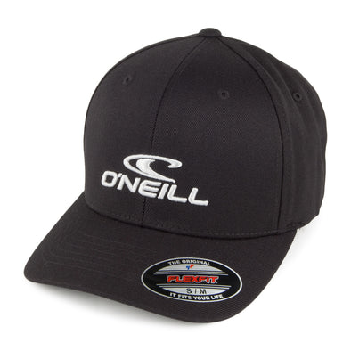 "O'NEILL ""FLEXFIT CORP CAP"" MENS FLEXFIT CAP. BLACK OUT"