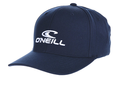 "O'NEILL ""FLEXFIT CORP CAP"" MENS FLEXFIT CAP. INK BLUE"