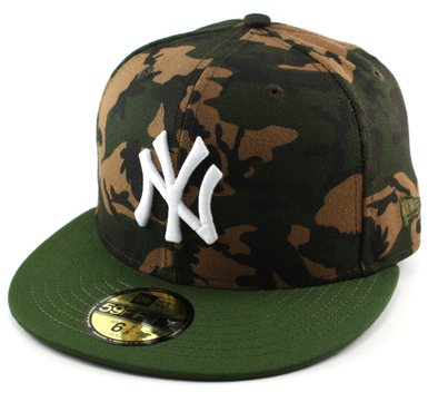 NEW ERA 59FIFTY FITTED CAP. CAMO TEAM FITTED CAP. NEW YORK YANKEES