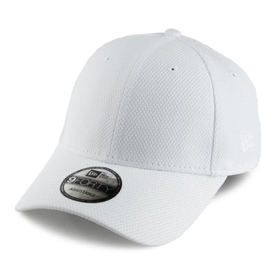 NEW ERA 9FORTY ADJUSTABLE CAP. DIAMOND ERA ESSENTIAL. WHITE from peaknation.co.uk