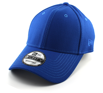NEW ERA 9FORTY ADJUSTABLE CAP. DIAMOND ERA ESSENTIAL. ROYAL BLUE from peaknation.co.uk
