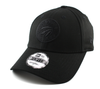 NEW ERA 9FORTY ADJUSTABLE CAP. NBA FELT INFILL TORONTO RAPTORS. BLACK  from peaknation.co.uk