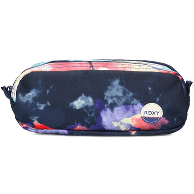 "ROXY ""DA ROCK"" GIRLS PENCIL CASE/WASHBAG. PLACID BLUE CLOUD NINE"