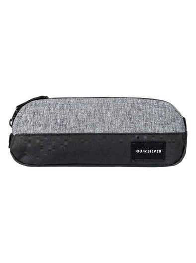 "QUIKSILVER ""TASMEN"" BOYS PENCIL CASE/WASHBAG. (EQYAA03575-SGRH) from peaknation.co.uk"