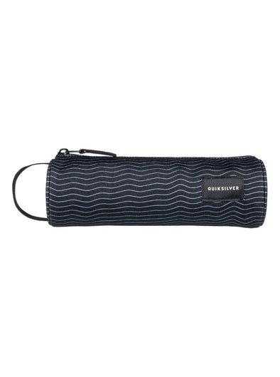 "QUIKSILVER ""PENCILO"" BOYS PENCIL CASE. BLACK HEAT WAVE (kvj9) from peaknation.co.uk"