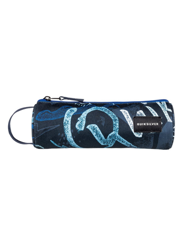 "QUIKSILVER ""PENCILO"" BOYS PENCIL CASE. DARK DENIM THUNDERBOLTS (brq8) from peaknation.co.uk"