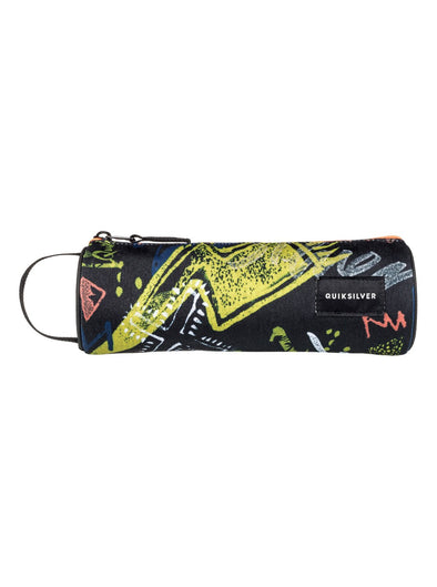 "QUIKSILVER ""PENCILO"" BOYS PENCIL CASE. BLACK THUNDERBOLTS (kvj7) from peaknation.co.uk"