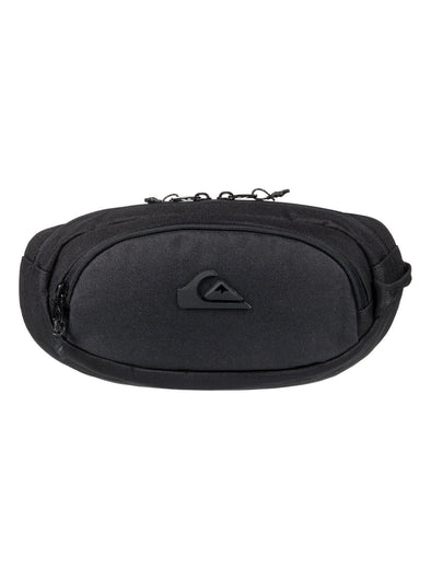 "QUIKSILVER ""JUNGLER"" MENS BUM BAG. (EQYBA03084-BLK) from peaknation.co.uk"