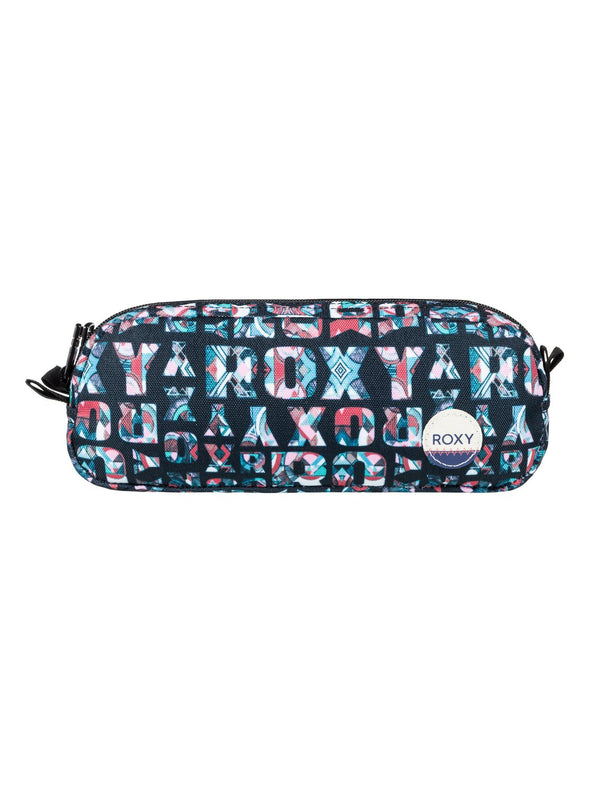 "ROXY ""DA ROCK"" GIRLS PENCIL CASE. ANTHRACITE SMALL URBAN FLAVOR (xkbm) from peaknation.co.uk"