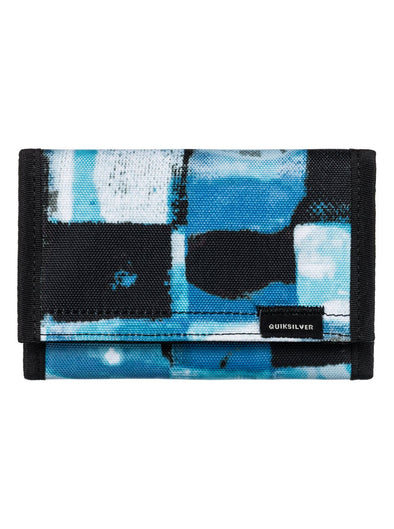 "QUIKSILVER ""THE EVERYDAILY"" MENS WALLET. TURKISH SEA RESIN CHECK (bqs6) from peaknation.co.uk"