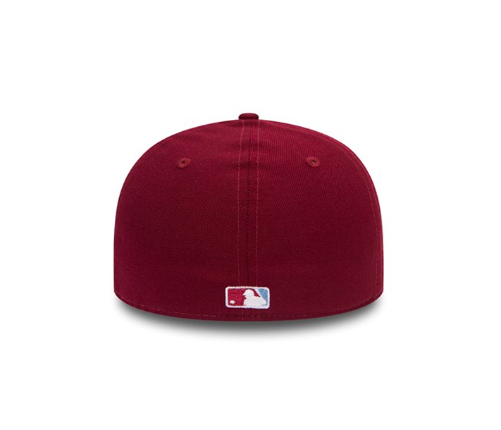 adf8d1f56aa NEW ERA 59FIFTY FITTED CAP. MINI LOGO PHILADELPHIA PHILLIES – Peak ...