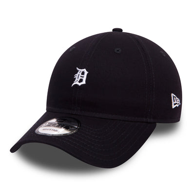 NEW ERA UNSTRUCTURED 9FORTY CAP. TEAM MINI LOGO. DETROIT TIGERS. NAVY from peaknation.co.uk