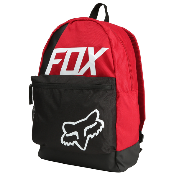 "FOX RACING ""SIDECAR KICK STAND"" MENS BACKPACK. DARK RED  from peaknation.co.uk"