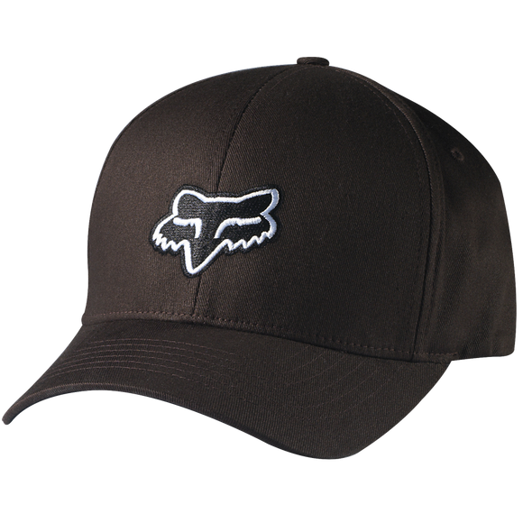 "FOX HEAD ""LEGACY"" FLEXFIT HAT. DARK BROWN from peaknation.co.uk"