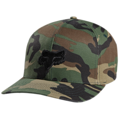"FOX HEAD ""LEGACY"" FLEXFIT HAT. CAMO from peaknation.co.uk"
