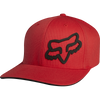 "FOX HEAD ""SIGNATURE FLEXFIT"" HAT. RED from peaknation.co.uk"