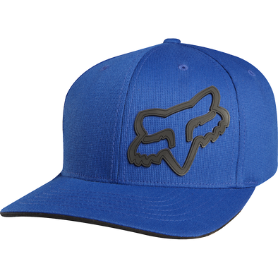 "FOX HEAD ""SIGNATURE FLEXFIT"" HAT. BLUE from peaknation.co.uk"