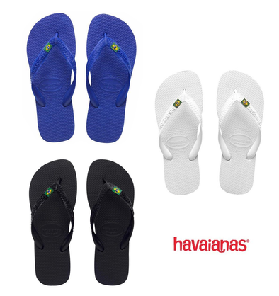 "HAVAIANAS ""BRASIL"" FLIP FLOPS (UK3-UK12). SPECIAL LOW PRICE from peaknation.co.uk"