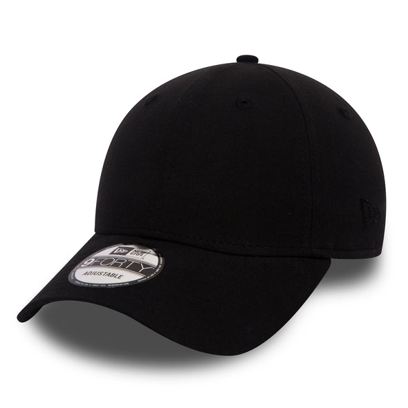 NEW ERA 9FORTY ADJUSTABLE CAP. LIGHTWEIGHT BLACK CAP