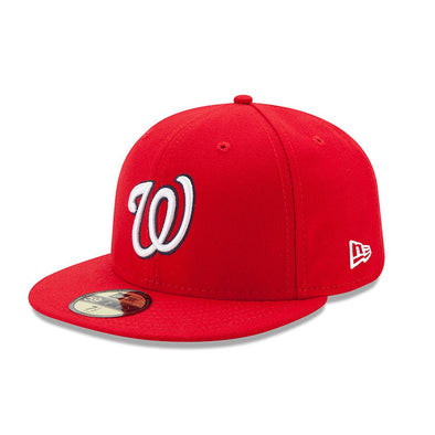NEW ERA 59FIFTY FITTED CAP. ACPERF ON FIELD WASHINGTON NATIONALS from peaknation.co.uk