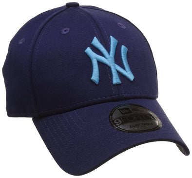 NEW ERA 9FORTY ADJUSTABLE CAP. JERSEY POP NEW YORK YANKEES. PURPLE from peaknation.co.uk