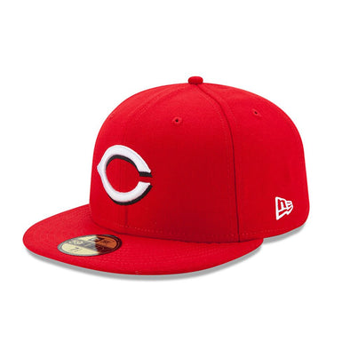 NEW ERA 59FIFTY FITTED CAP. ACPERF ON FIELD CINCINNATI REDS from peaknation.co.uk