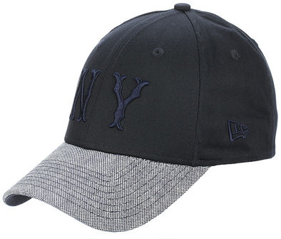 NEW ERA 39THIRTY FITTED CAP. BASKETBALL COOPERSTOWN. NEW YORK HIGHLANDERS. NAVY/GREY from PeakNation.co.uk