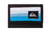 "QUIKSILVER MEN'S CANVAS 3 FOLD WALLET ""COLLECTIVE"". NEON BLUE (UQYAA03030-BNM0)"