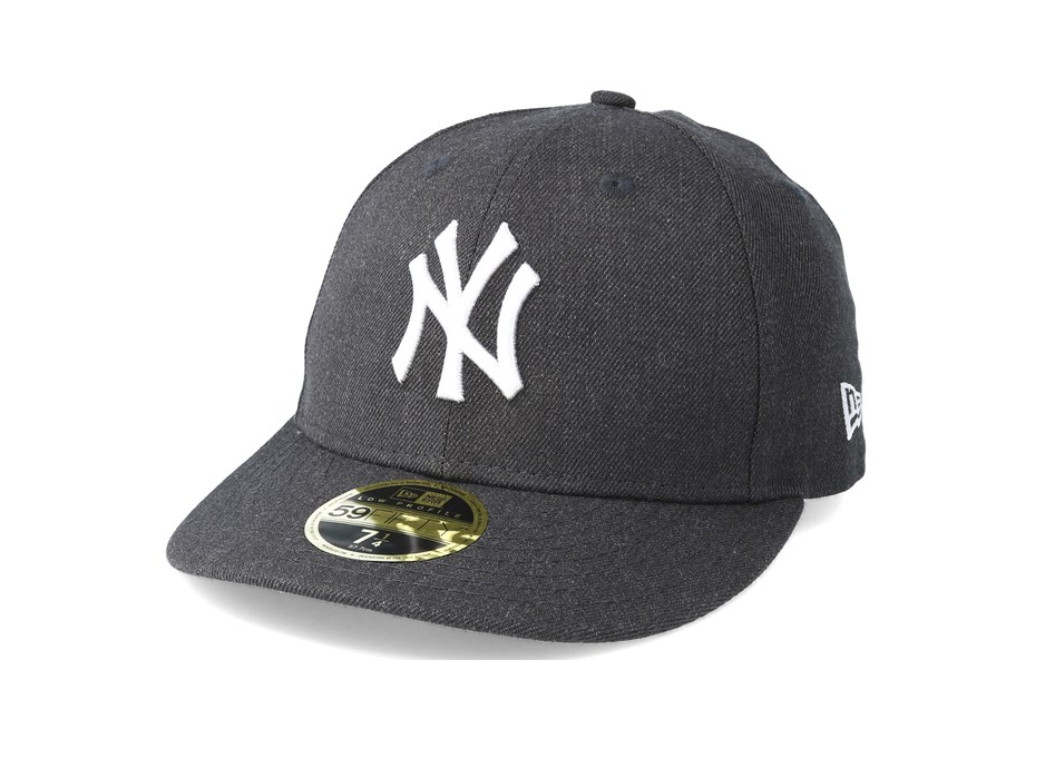188154dc2e077 NEW ERA 59FIFTY LOW PROFILE FITTED CAP. HEATHER NEW YORK YANKEES. GRAP –  Peak Nation