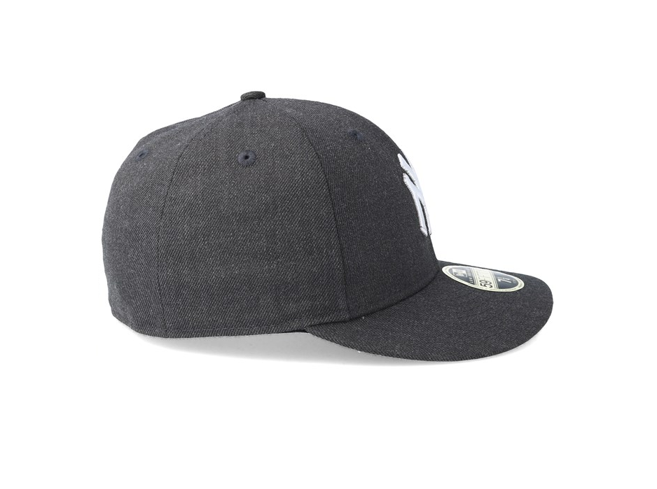 new product 025c8 22a01 NEW ERA 59FIFTY LOW PROFILE FITTED CAP. HEATHER NEW YORK YANKEES. GRAPHITE
