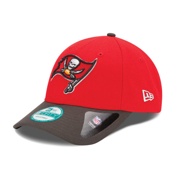 NEW ERA 9FORTY THE LEAGUE NFL CAP. NATIONAL FOOTBALL LEAGUE. TAMPA BAY BUCCANEERS from peaknation.co.uk