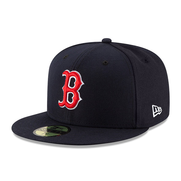 NEW ERA 59FIFTY FITTED CAP. MLB ON FIELD CAP. BOSTON RED SOX