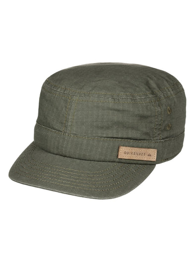 "QUIKSILVER ""RENEGADE"" MENS MILITARY CAP. DUSTY OLIVE from peaknation.co.uk"