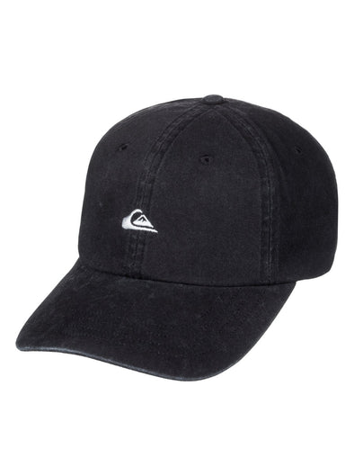"QUIKSILVER ""PAPA DAD CAP"" MENS CAP. BLACK (KVJ0) from peaknation.co.uk"