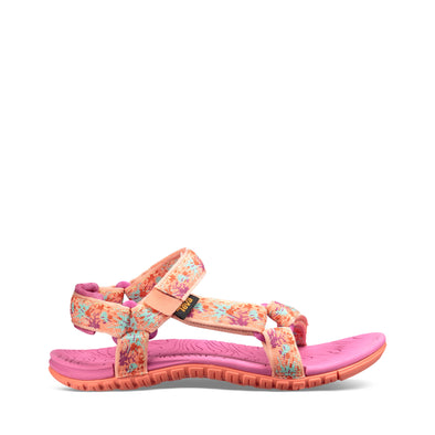 "TEVA ""HURRICANE 3"" GIRLS SANDALS. SPLASH TROPICAL PEACH. TODDLER/CHILD from peaknation.co.uk"