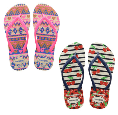 HAVAIANAS KIDS SLIM FASHION. KIDS FLIP FLOPS from peaknation.co.uk